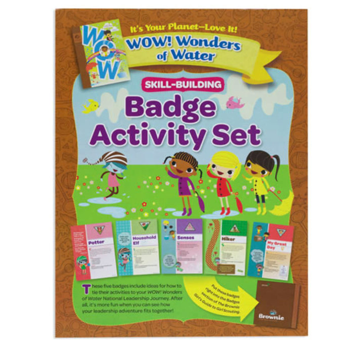 BR Badge Activity Set/WOW! Wonder of Water