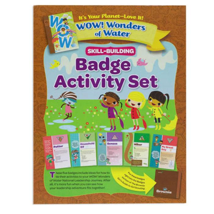 BR Badge Activity Set/WOW! Wonder of Water
