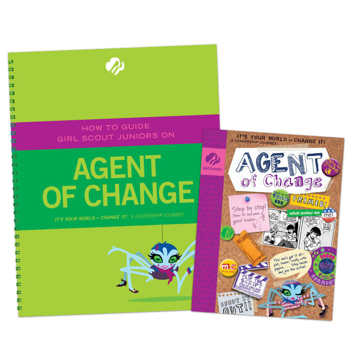 How to Guide  Juniors on Agent of Change