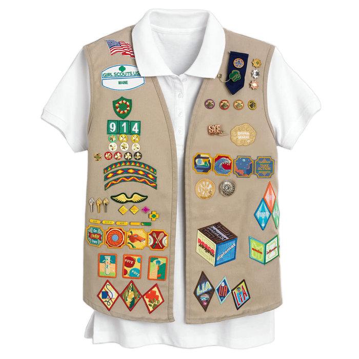 Cad/Sr/Amb Vest Lg (14-16)