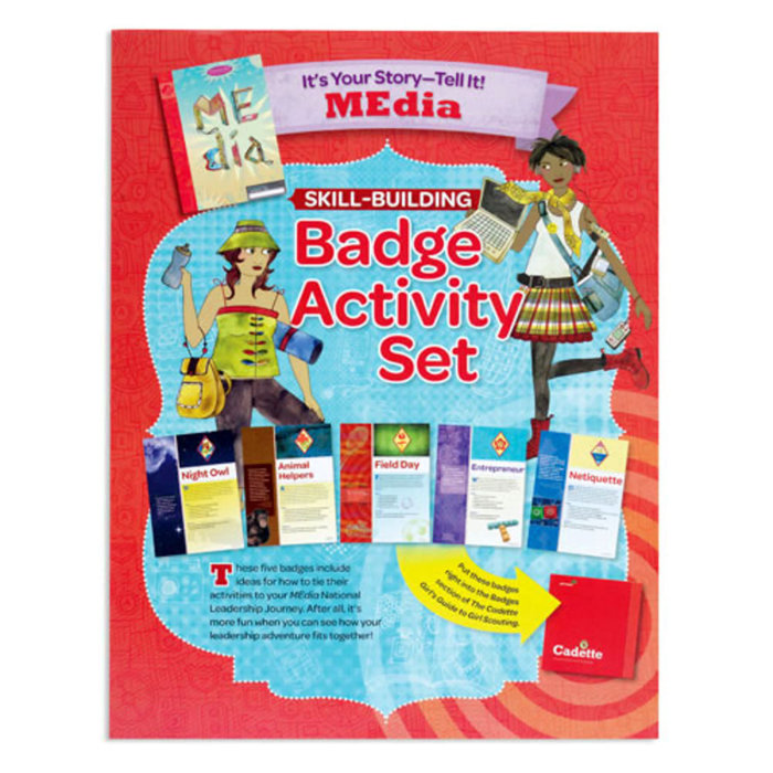 Cadette Badge Activity Set-It's Your Story