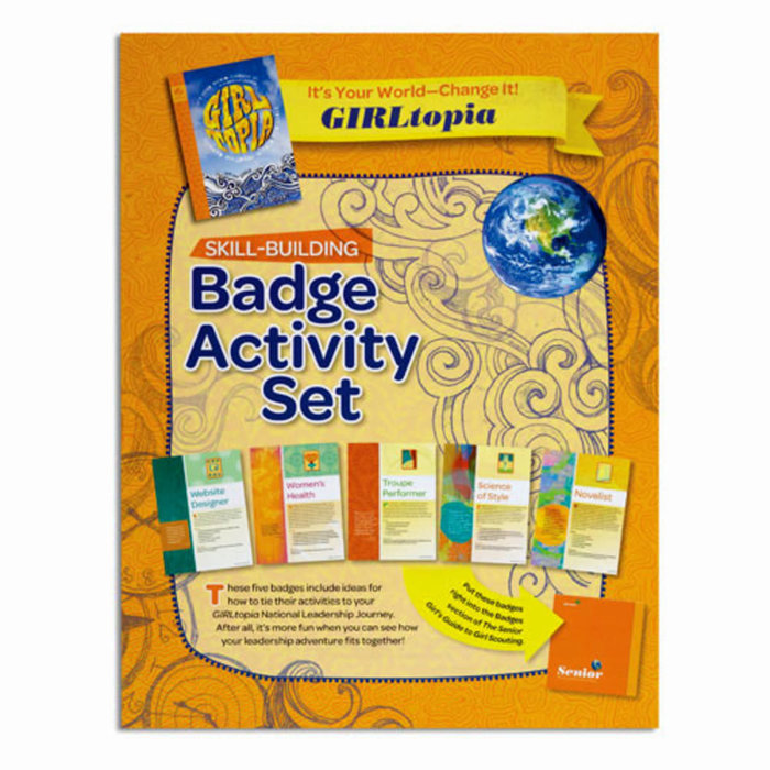 Senior Badge Activity Set-It's Your World