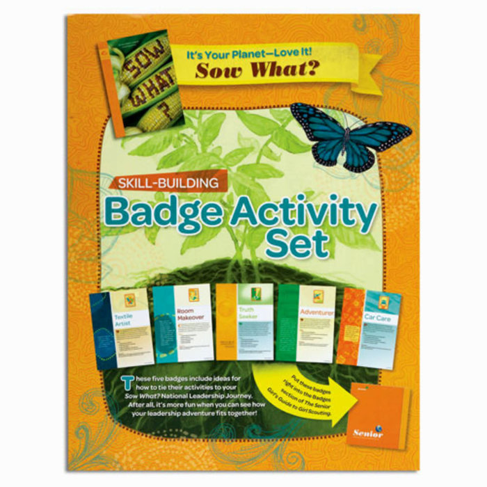 Senior Badge Activity Set-It's Your Planet