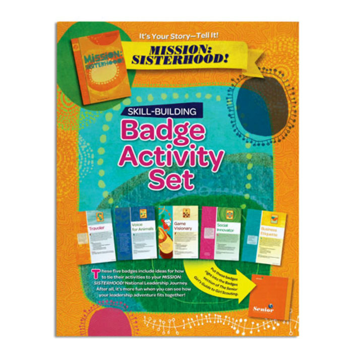 Senior Badge Activity Set-It's Your Story