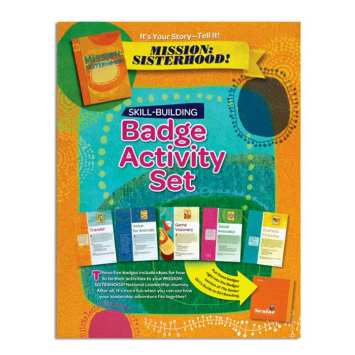 Senior Badge Activity Set-It's Your Story
