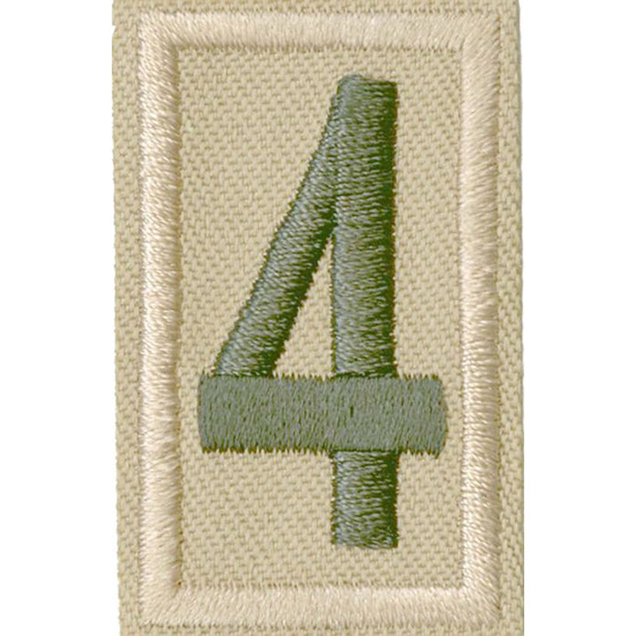 Unit Numeral 4
