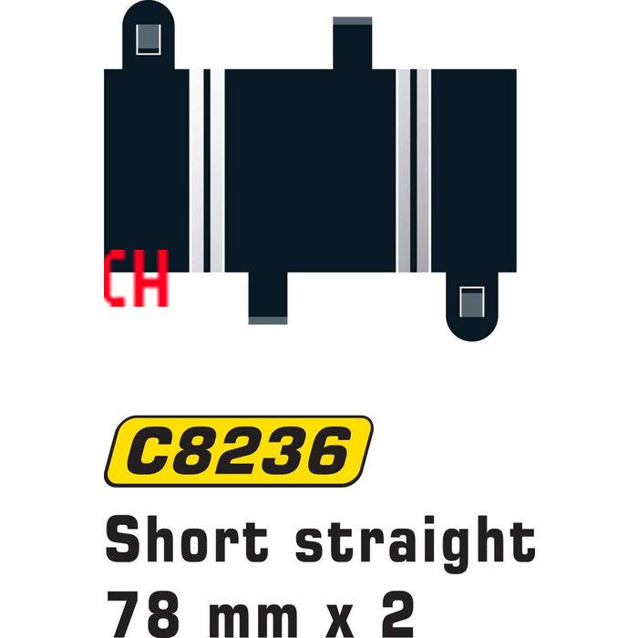 Short Straight 78 mm x 2