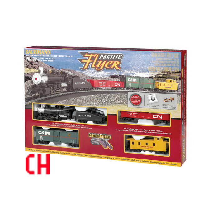 N Super Chief  Freight Set/SF F7