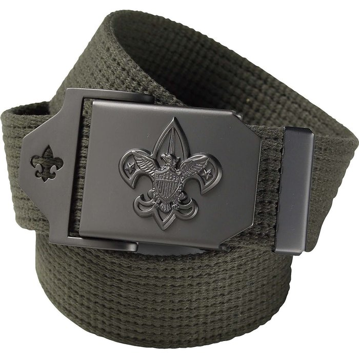 Scouts BSA Green Web Belt 60""