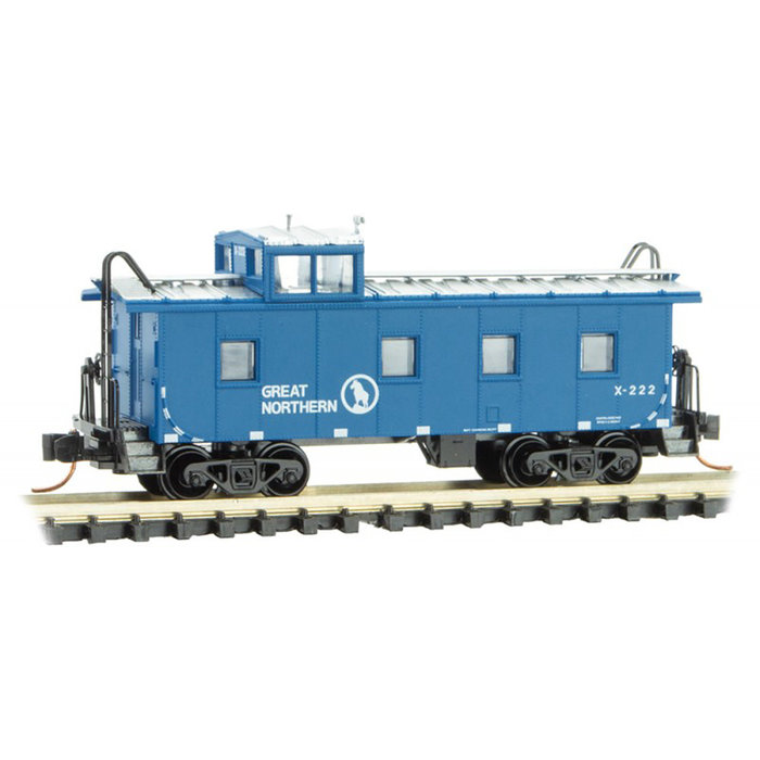 N 36' Riveted Caboose GN #222
