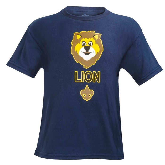 LION Youth Navy T-shirt Med