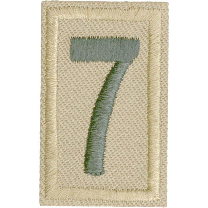 Unit Numeral 7