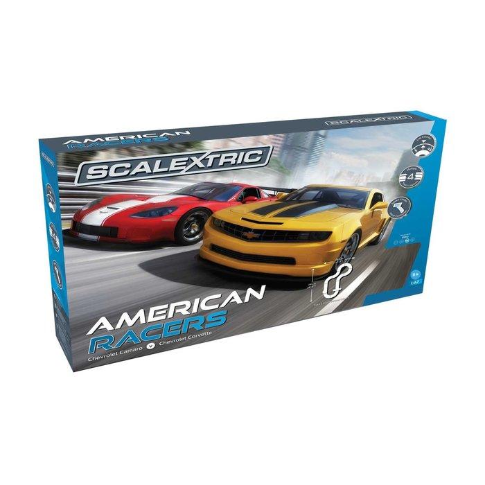 American Racers Corvette v Camaro Set