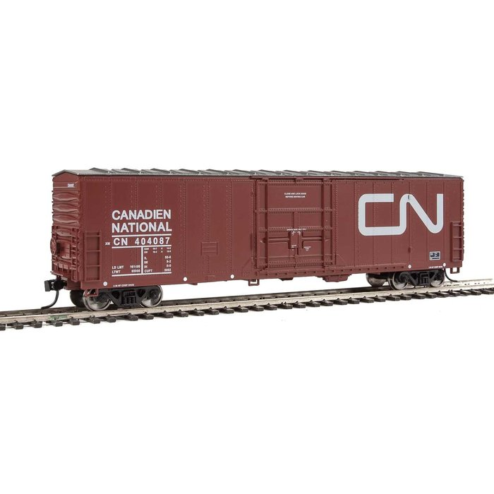 HO 50' Insulated Boxcar CN #404087