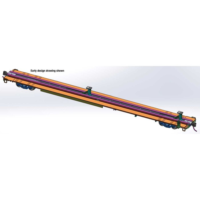 HO 85' Flatcar SF #290709