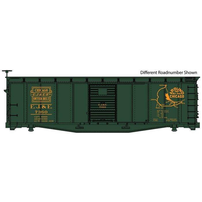 HO 40' Steel Boxcar EJ&E #7364