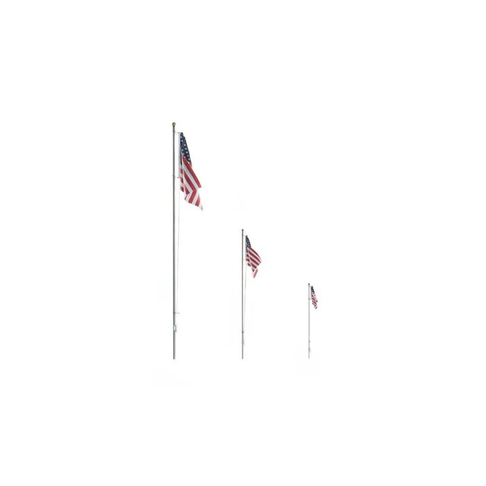 US Flag - Pole - Large