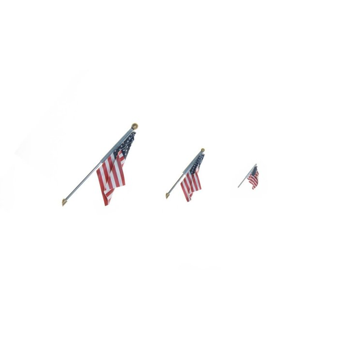 US Flag - Wall Mount - Small
