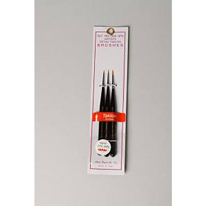 3-pc Taklon Detail Mini Brush