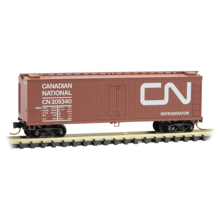 N 40' Wood Reefer CN #205340