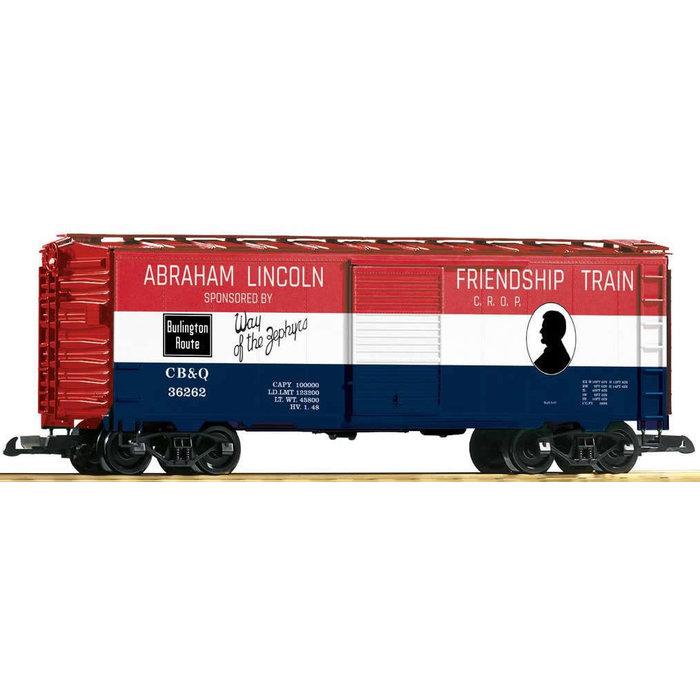 G Box Car Friendship Train