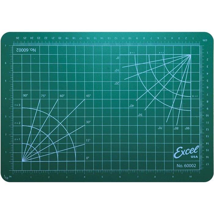 8 1/2'' x 12'' (Green) Self-Healing Cutting Mat