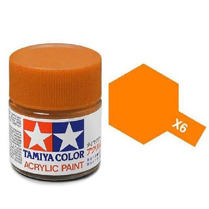 Mini Acrylic X-6 Orange/10ml