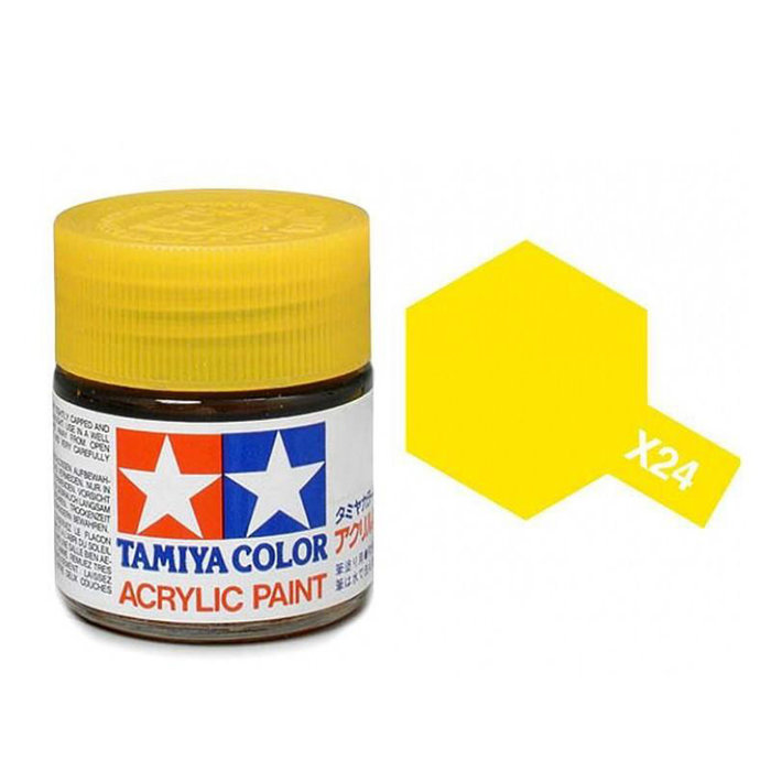 Mini Acrylic X-24 Clear Yellow/10ml