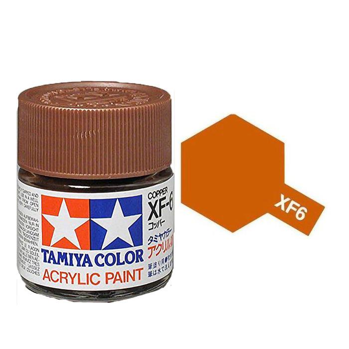 Mini Acrylic XF-6 Copper/10ml