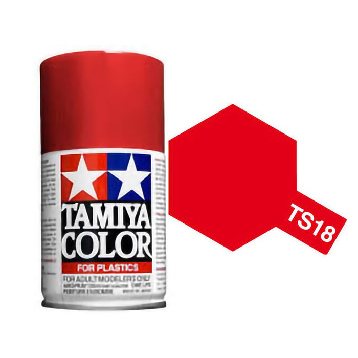 Spray TS-18 Metallic Red
