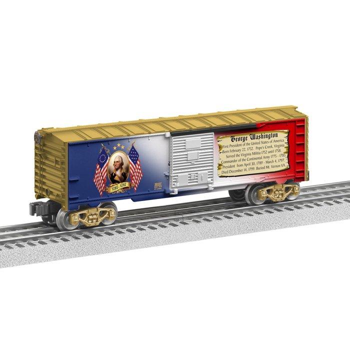 USA Made Washington Presidential Boxcar U