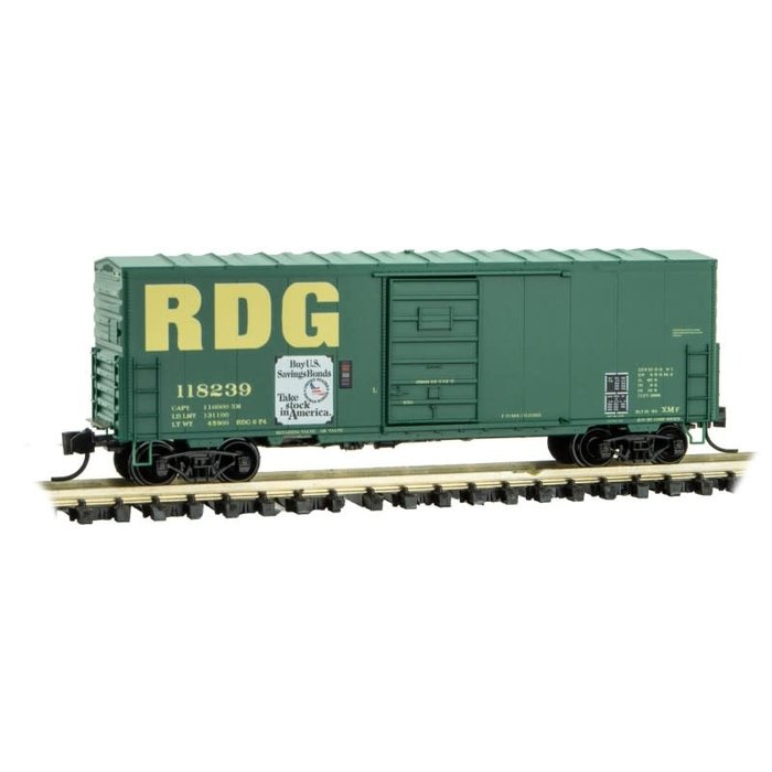 N 40' Box Car Reading - Rd#118239