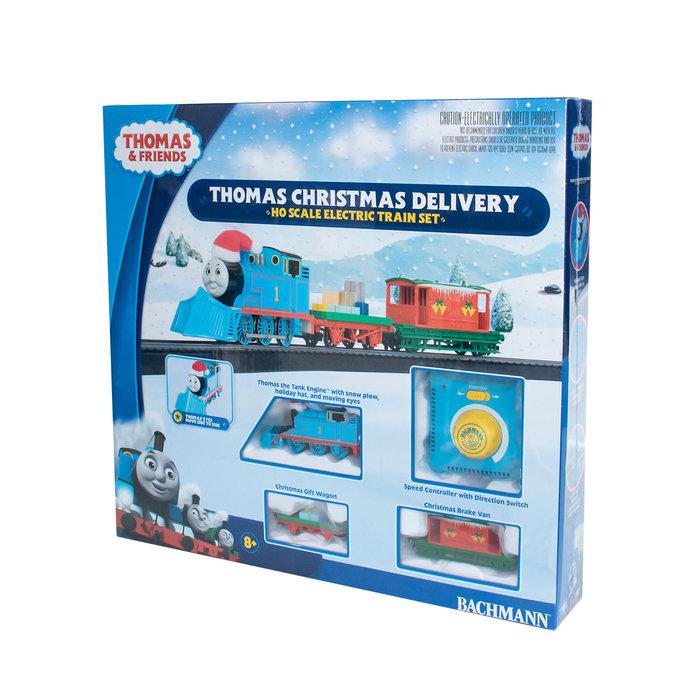 HO Thomas' Christmas Delivery Set w/Moving Eyes