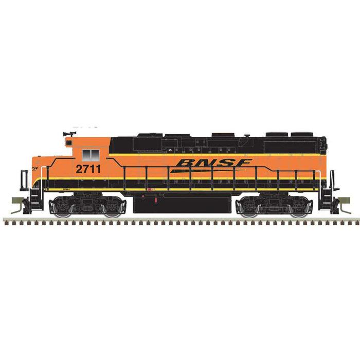 N EMD GP39-2 Phase II - DCC  - BNSF #2715