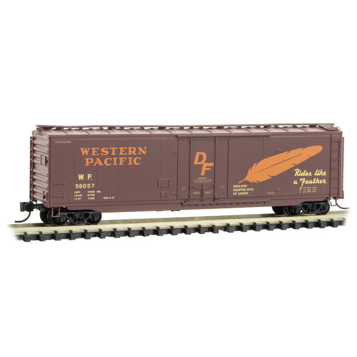 N 50' Box Car Western Pacific #56057