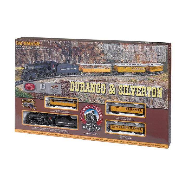 HO Durango & Silverton Passenger Set/2-8-0
