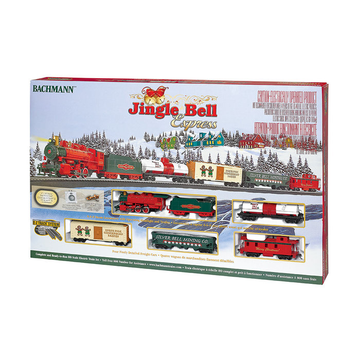 HO Jingle Bell Express Freight Set