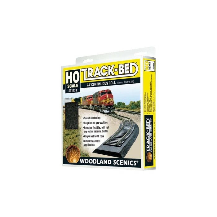 HO Track-Bed 24' Roll