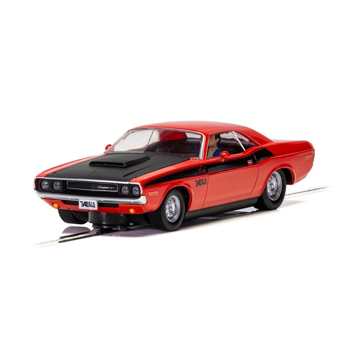 Dodge Challenger T/A - Red and Black