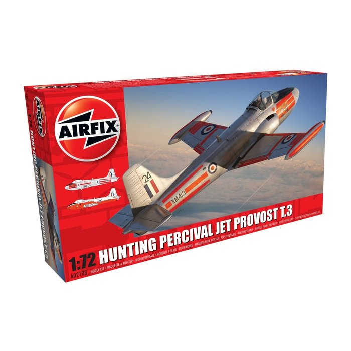 Hunting Percival Jet Provost T.3/T.3a Kit