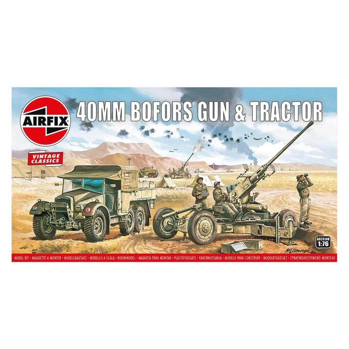 Bofors Gun & Tractor Kit