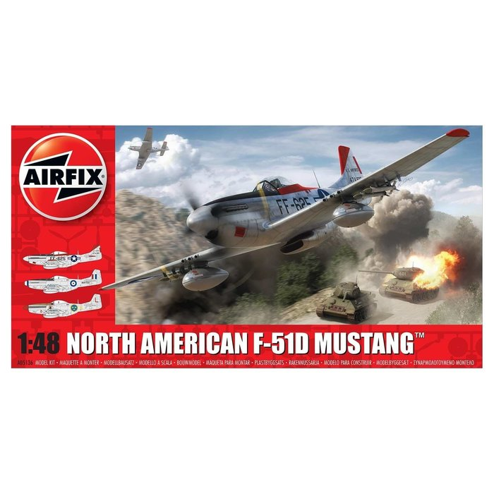 North American F51D Mustang Kit