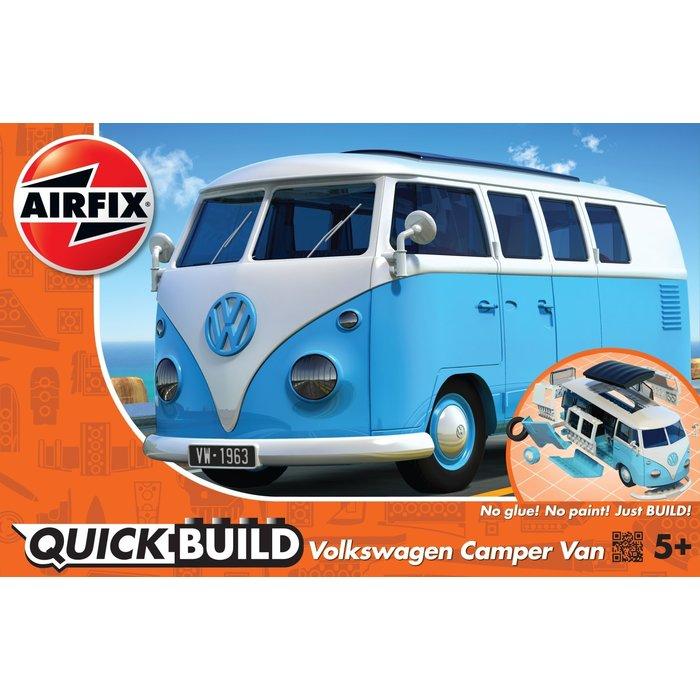 QUICKBUILD VW Camper Van - Blue