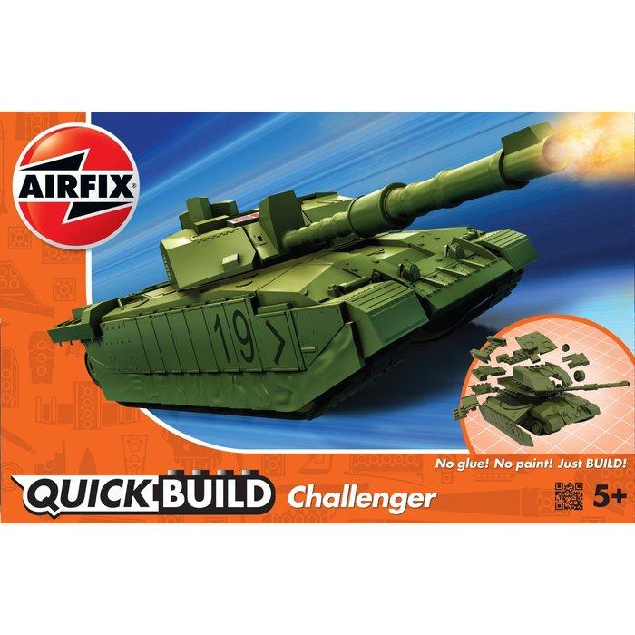 QUICKBUILD Challenger Tank - Green