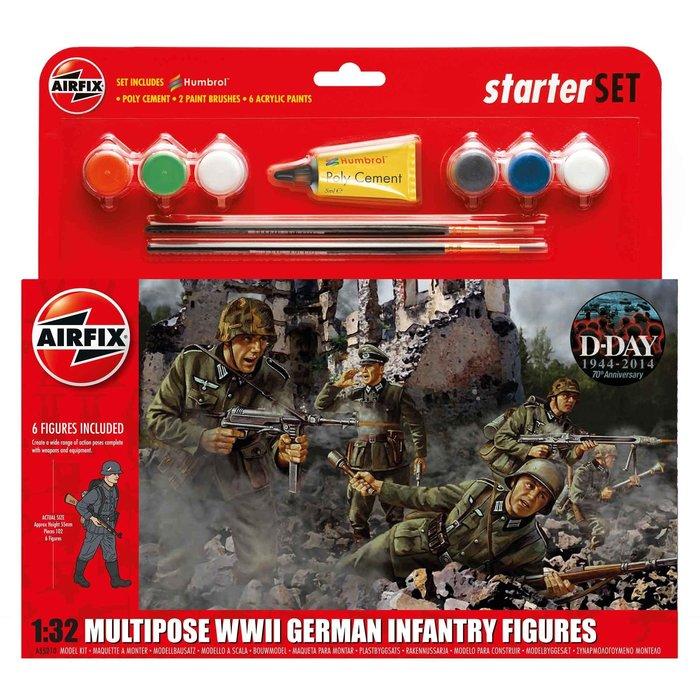 WWII German Infantry Multipose Starter Set