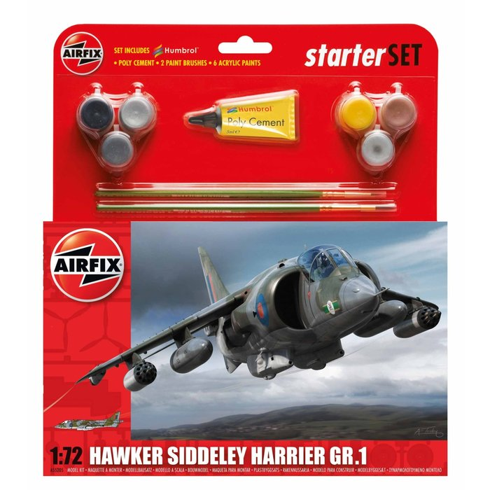 Medium Starter Set - Hawker Harrier GR1