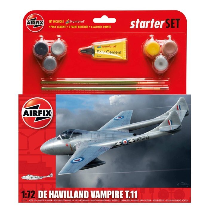 Medium Starter Set - De Havilland Vampire T11