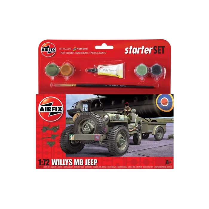 Starter Set Jeep MB