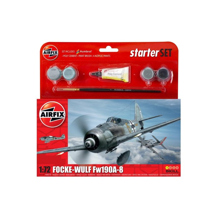 Small Starter Set - Focke Wulf 190A-8