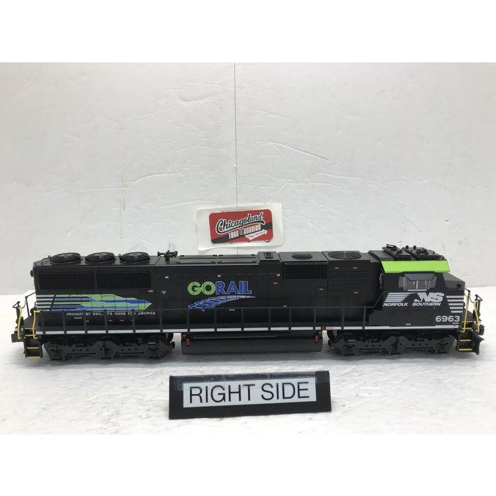 O BTO SD60E Diesel NS #6963 Go Rail/LCS